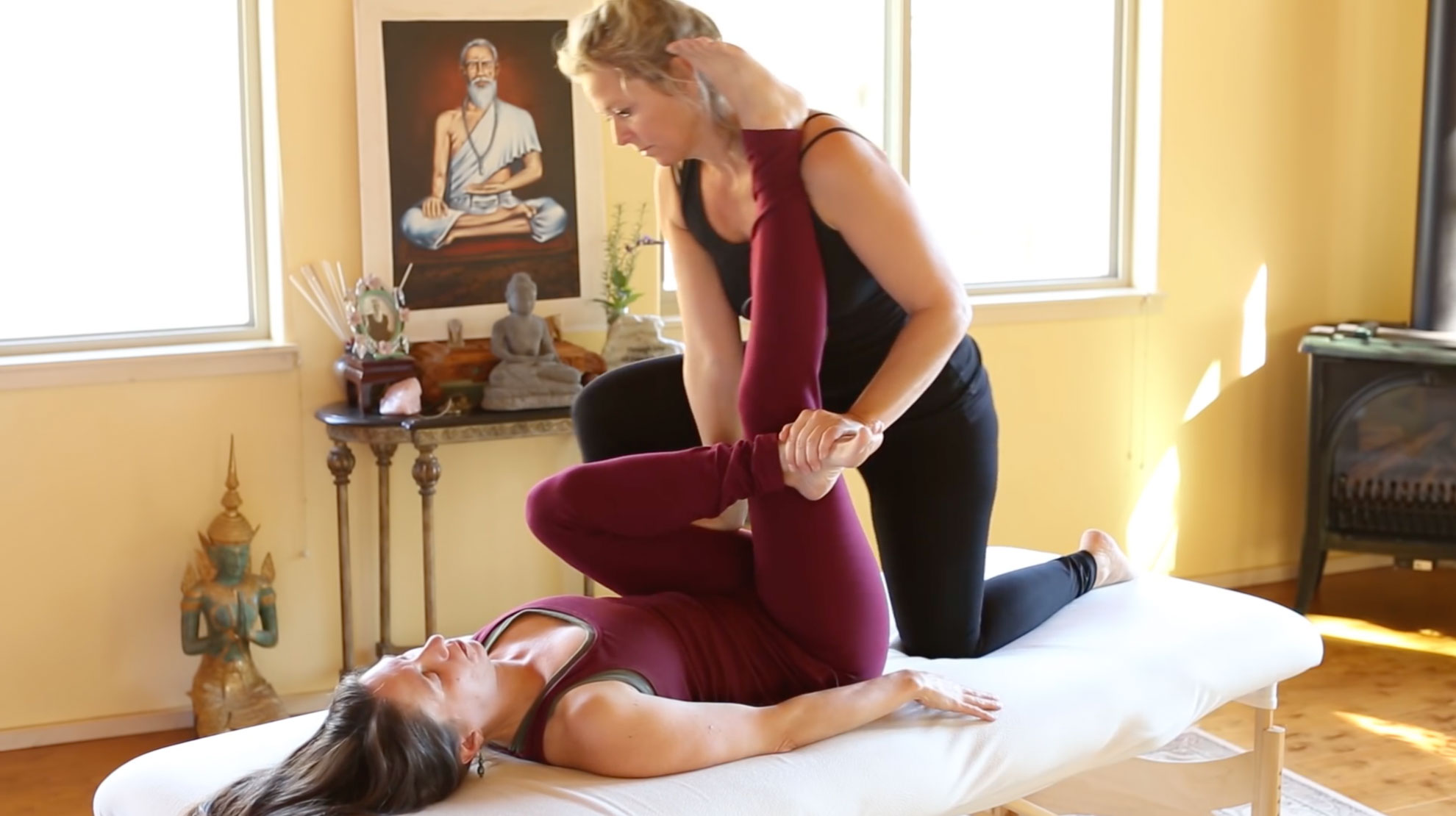 Thai Table Massage Training